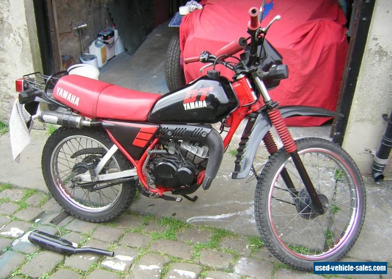 1986 yamaha dt 50 for sale in the united kingdom. Black Bedroom Furniture Sets. Home Design Ideas