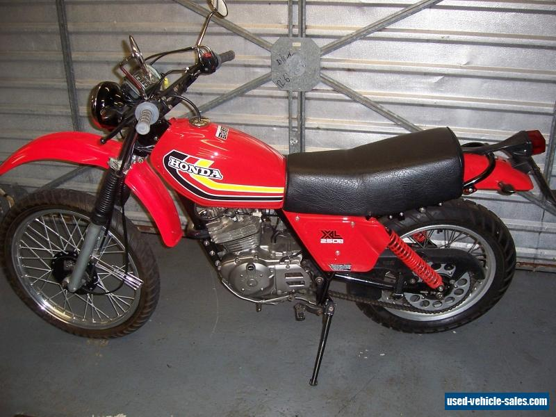 1979 Honda XL250S for Sale in the United Kingdom