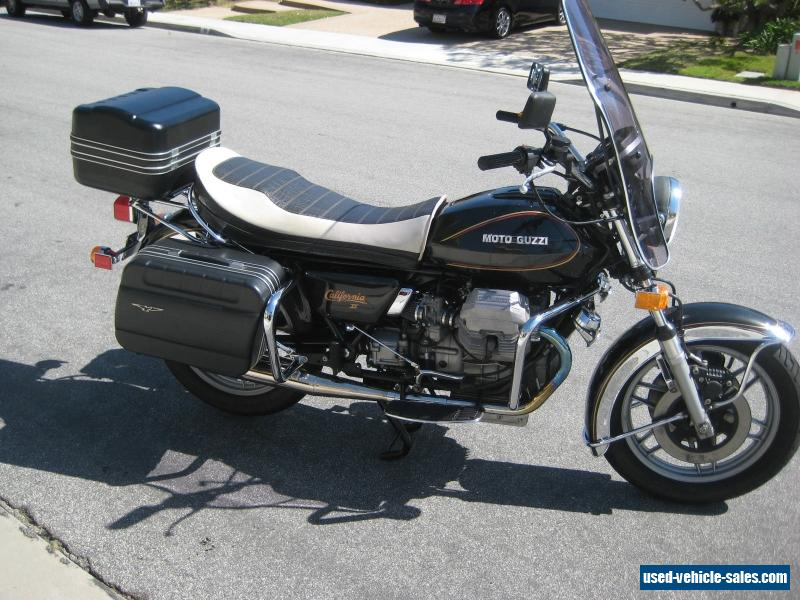 1985 moto guzzi california ii for sale in canada. Black Bedroom Furniture Sets. Home Design Ideas