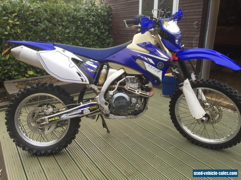 2007 yamaha wr 450 for sale in the united kingdom