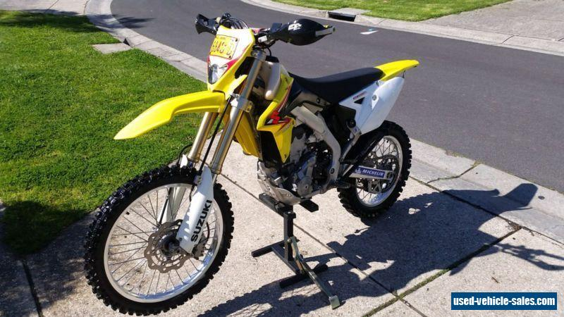suzuki rmx 450z for sale in australia. Black Bedroom Furniture Sets. Home Design Ideas