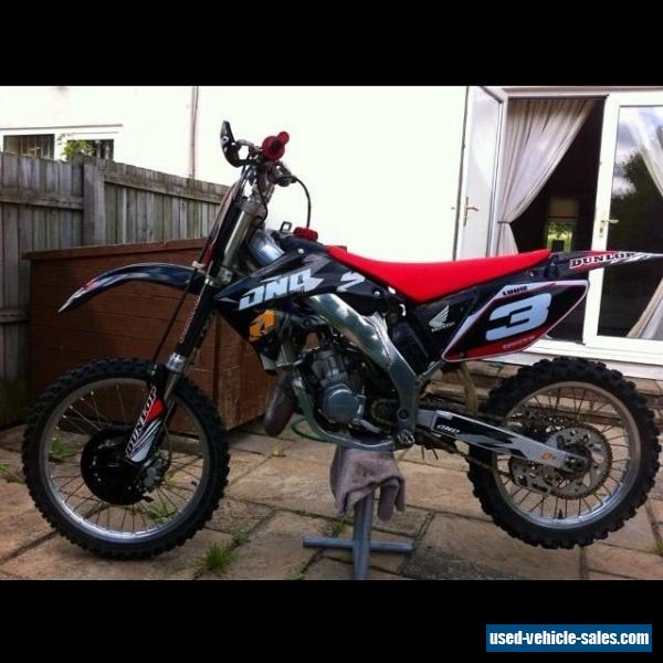 2002 honda cr125 for sale in the united kingdom for Used honda for sale