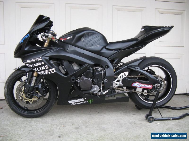 suzuki gsxr 600 k6 track bike honda yamaha for sale in. Black Bedroom Furniture Sets. Home Design Ideas