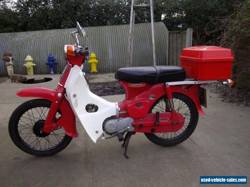1980 honda c50 for sale in the united kingdom. Black Bedroom Furniture Sets. Home Design Ideas