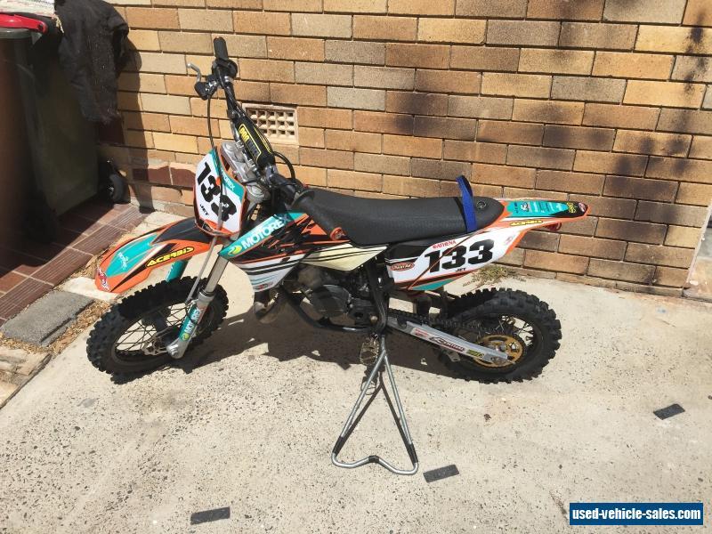 2013 ktm 50 sx for sale