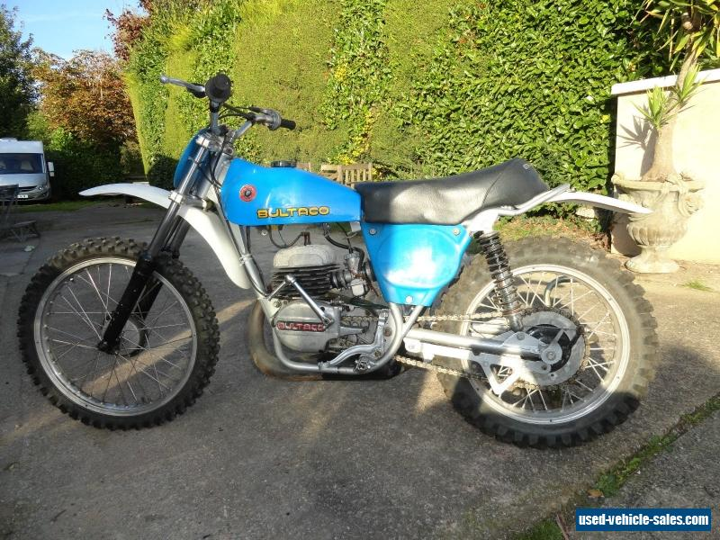 1971 Bultaco Pursang for Sale in the United Kingdom