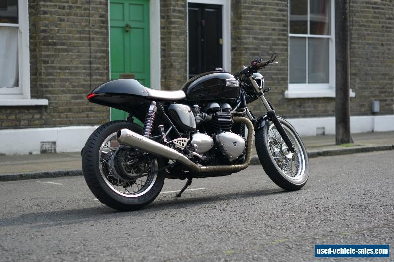 2010 Triumph Thruxton For Sale In The United Kingdom