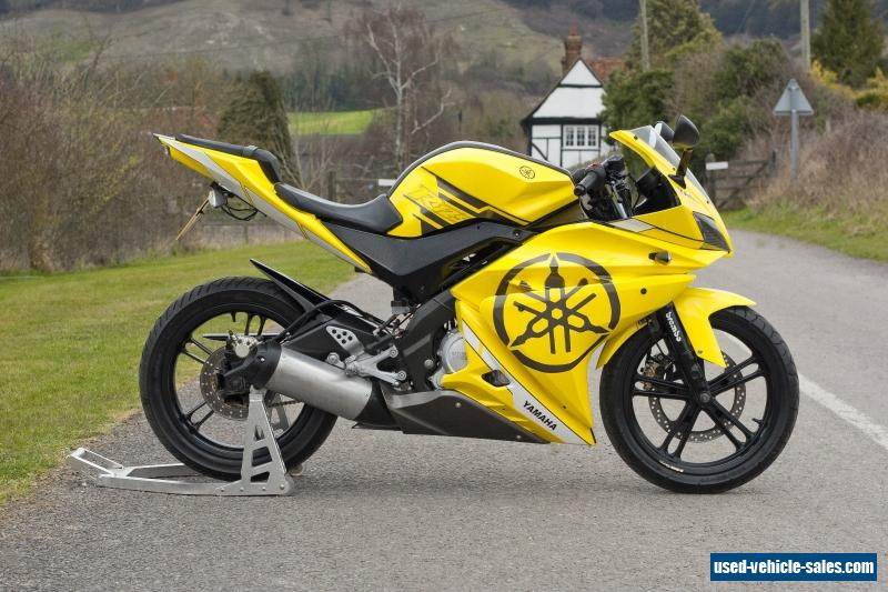 2008 yamaha yzf r125 for sale in the united kingdom. Black Bedroom Furniture Sets. Home Design Ideas