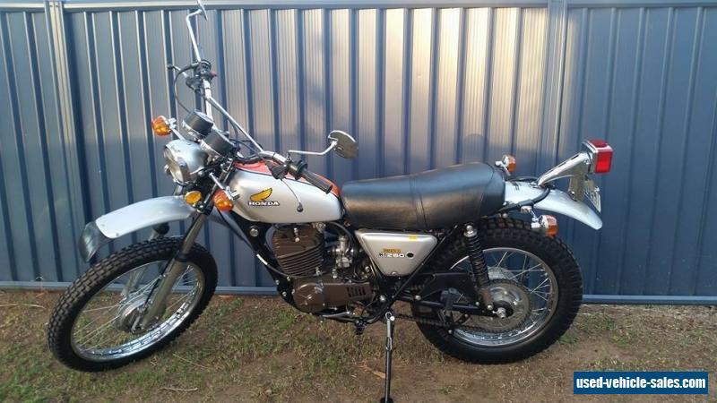 Honda Elsinore Mt 250 >> Honda MT 250 KO Elsinore 1974 for Sale in Australia