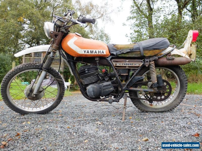 1976 yamaha dt 250 enduro for sale in the united kingdom for Yamaha 250 scrambler for sale