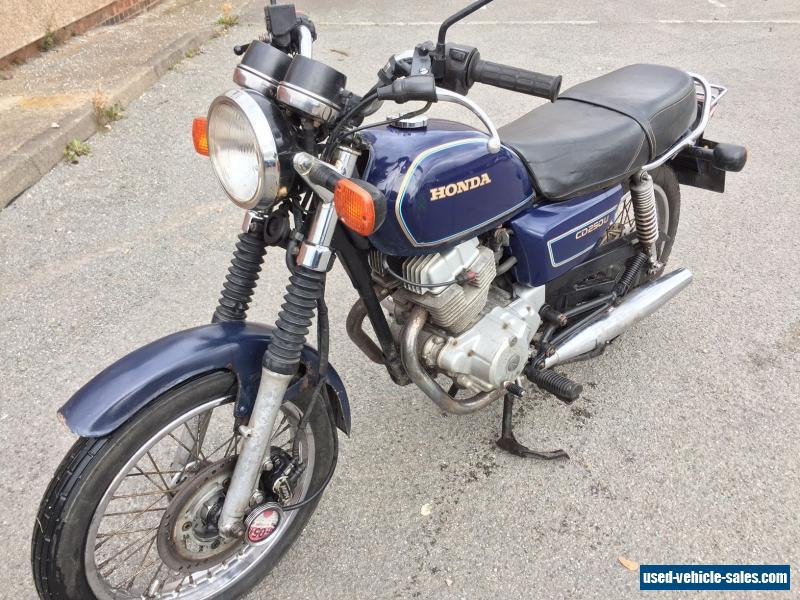 project motorcycles for sale