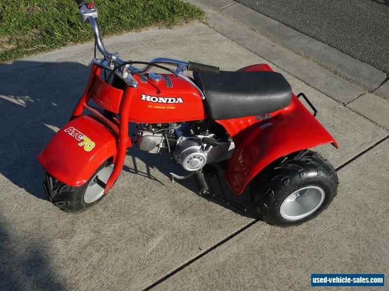 Honda 3 Wheeler For Sale >> Honda 1978 For Sale In Australia