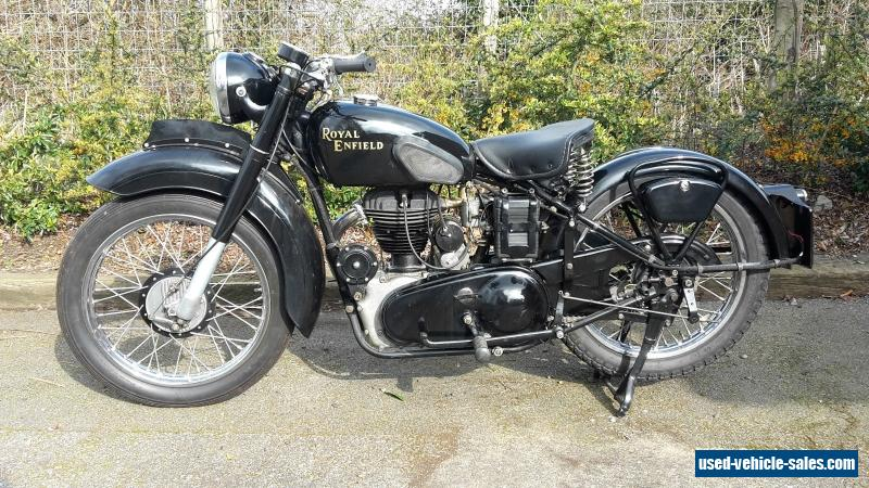 1948 Royal Enfield G For Sale In The United Kingdom