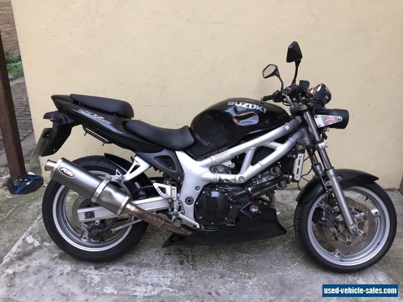 2002 Suzuki SV 650 - Moto.ZombDrive.COM