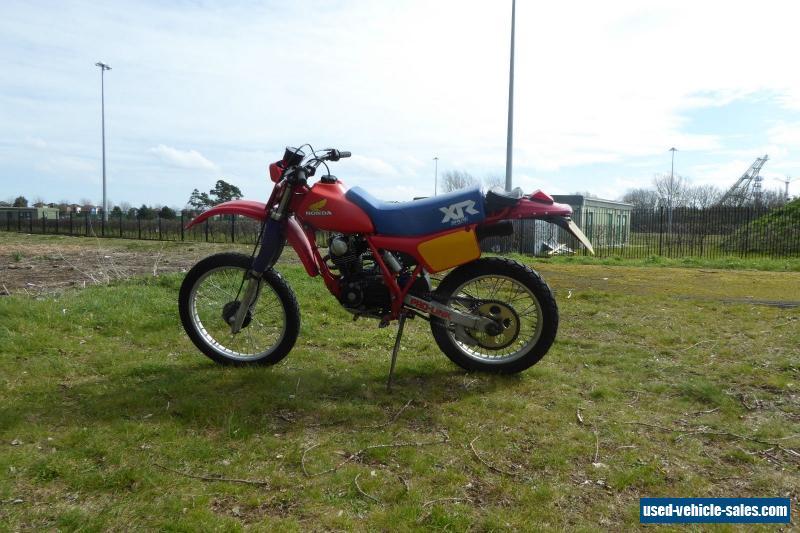 Honda Xr R