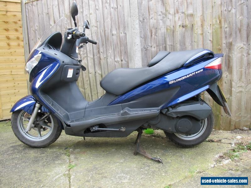 2007 suzuki uh 125 k7 for sale in the united kingdom. Black Bedroom Furniture Sets. Home Design Ideas