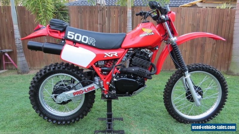 Honda xr500rc for sale in australia for Hondas for sale