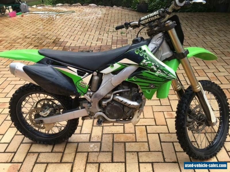 Kawasaki 2008 KX250F for Sale in Australia