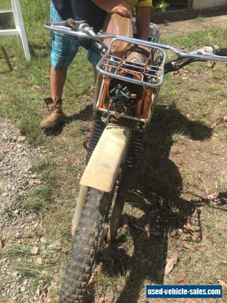 Yamaha 175 Ag bike  2 stroke, dirt bike