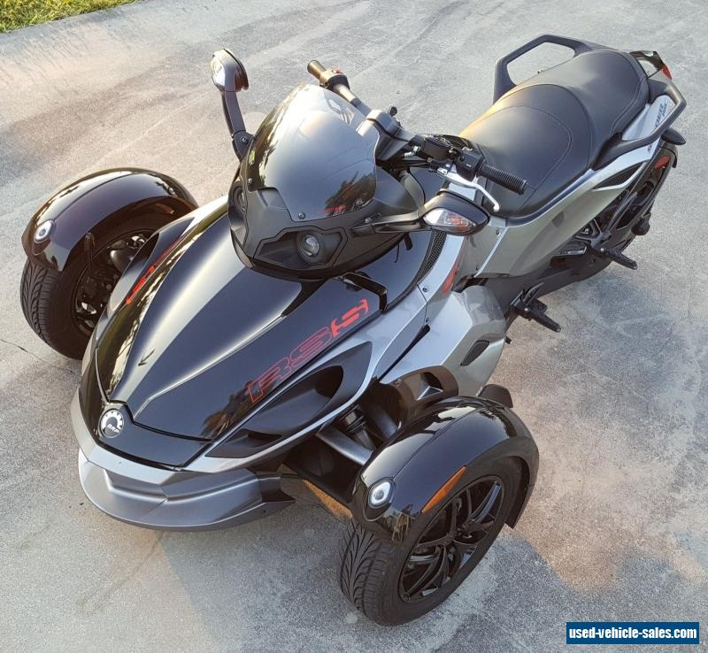 2012 Can-am Spyder RS-S Reverse Trike For Sale In Canada