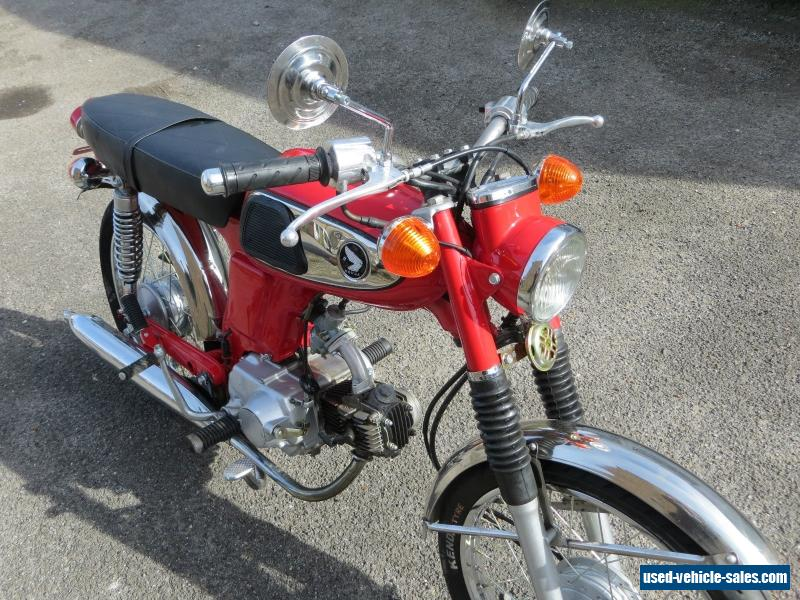 1967 honda ss 50 for sale in the united kingdom. Black Bedroom Furniture Sets. Home Design Ideas