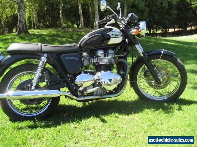 Triumph bonneville T100 for Sale in Australia