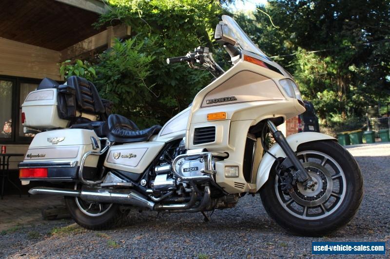 1986 Honda Goldwing Aspencade For Sale