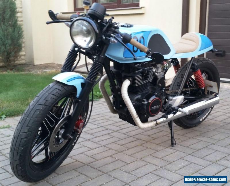1980 Honda CB400 for Sale in the United Kingdom