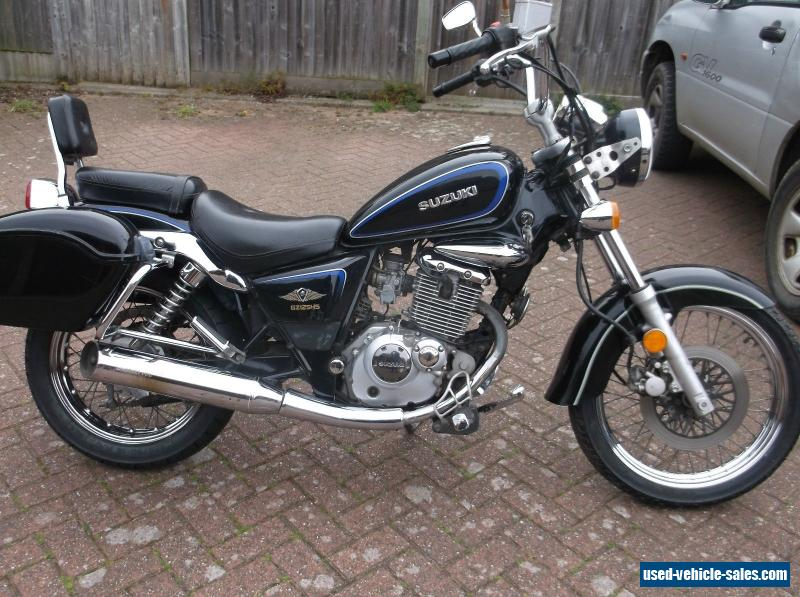 2007 suzuki gz 125 marauder for sale in the united kingdom. Black Bedroom Furniture Sets. Home Design Ideas