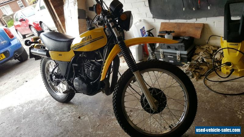 1979 yamaha dt250mx for sale in the united kingdom for Yamaha dt 250 for sale