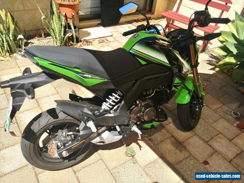 Kawasaki Z125 Pro For Sale In Australia