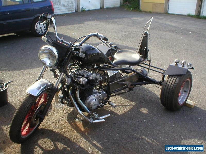 Trike 1978 honda black no reserve for sale in the united for Motor trikes for sale uk