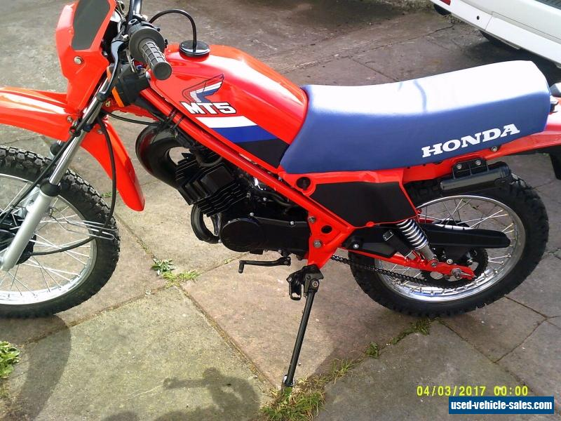 1987 honda mt 50 sg for sale in the united kingdom. Black Bedroom Furniture Sets. Home Design Ideas
