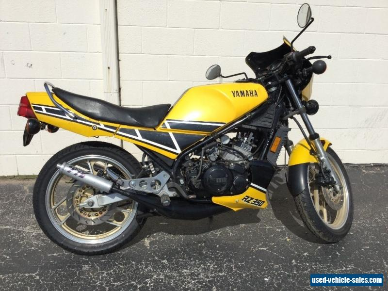 1984 Yamaha RZ350 for Sale in Canada