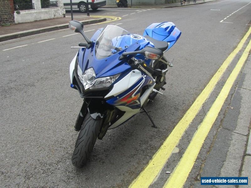 2009 Suzuki GSX-R for Sale in the United Kingdom