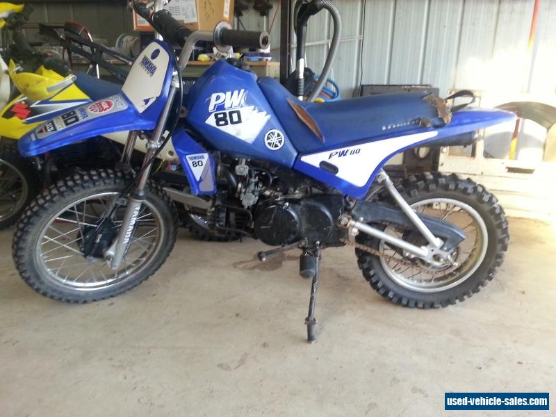 Yamaha pw80 for sale in australia for 2001 yamaha pw80 for sale