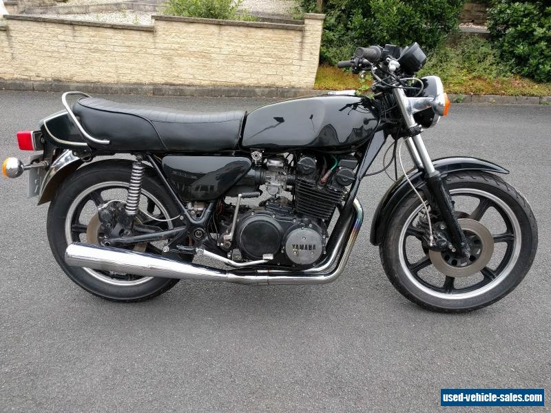 1977 YAMAHA XS750 2D MODEL MOTORBIKE MOTED AND READY TO RIDE CAFE RACER CLASSIC for Sale