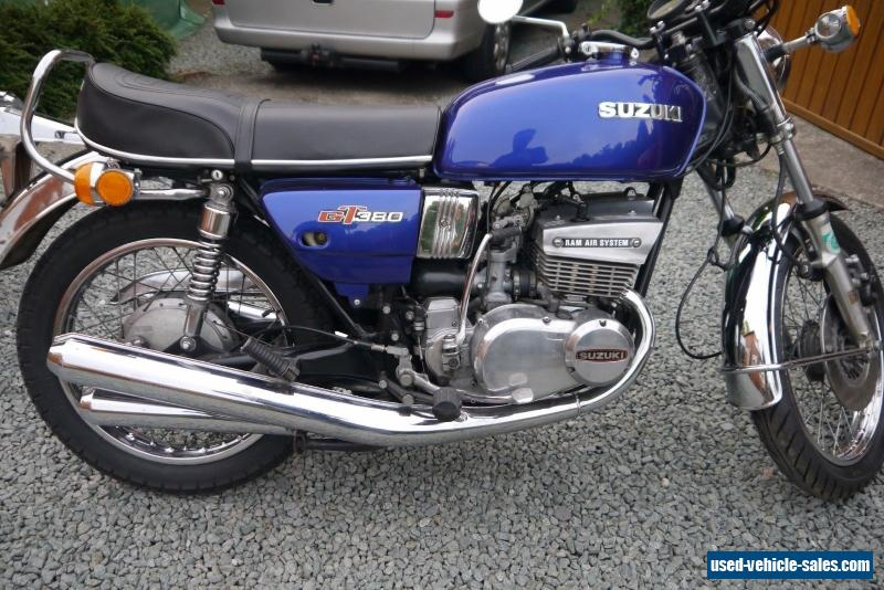 1976 suzuki gt for sale in the united kingdom. Black Bedroom Furniture Sets. Home Design Ideas