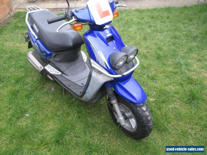 2000 yamaha bws 100 for sale in the united kingdom