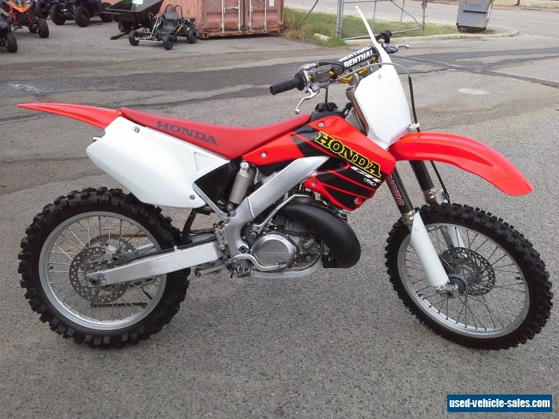 Honda cr250 for sale in australia for Used hondas for sale