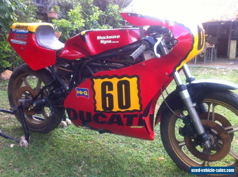 DUCATI TT2 500 1980 PERIOD 5 RACE BIKE WITH LOG BOOK RARE VINTAGE TRACK For Sale