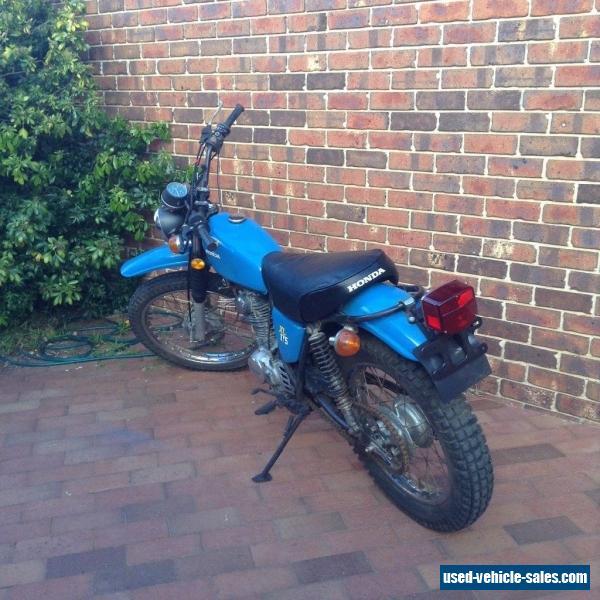 Honda Xl175 For Sale In Australia