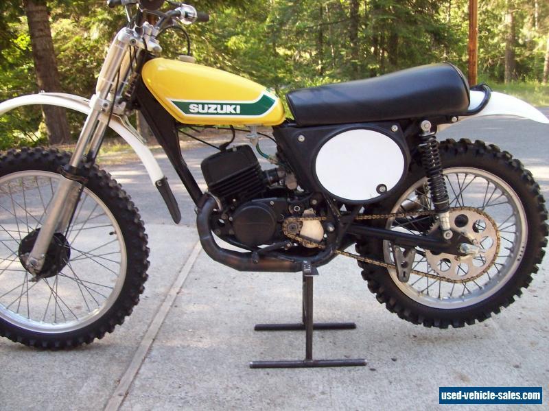 Suzuki Tire Size >> 1973 Suzuki TM125 for Sale in Canada