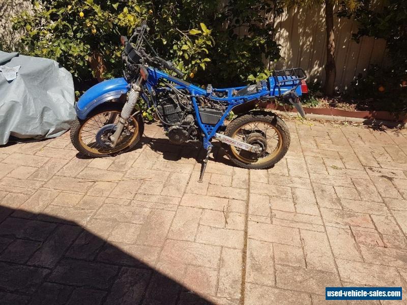 Yamaha XT600 motorcycle/parts