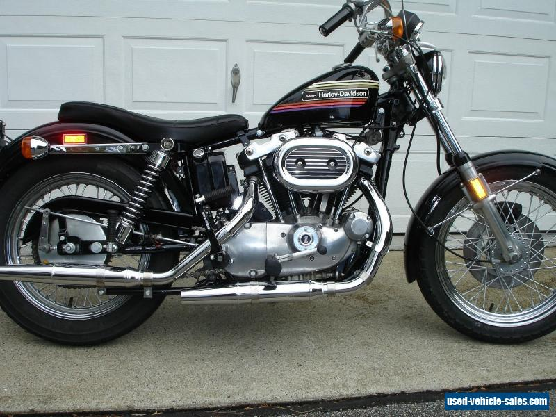 1974 harley davidson sportster for sale in the united states. Black Bedroom Furniture Sets. Home Design Ideas