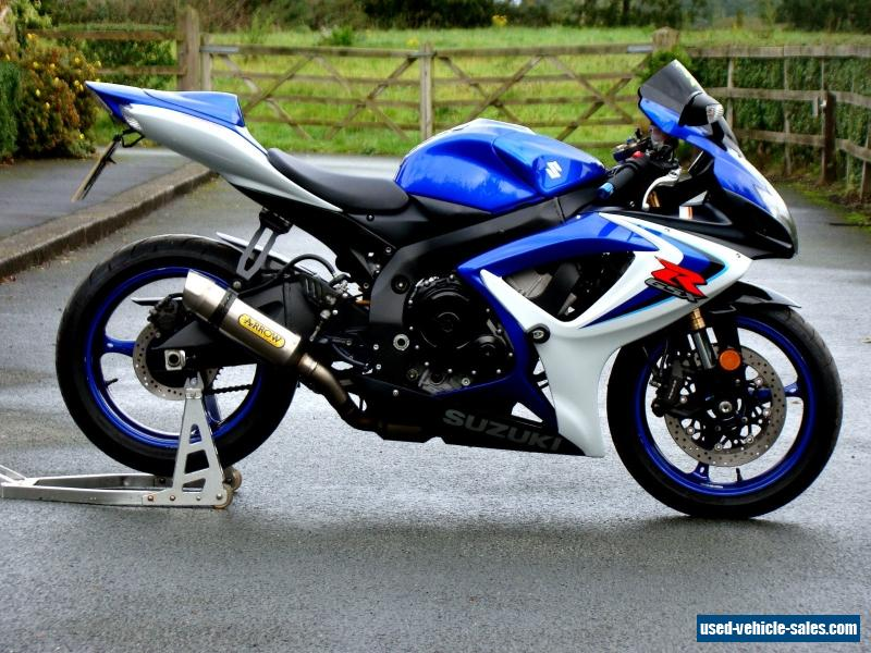 2006 suzuki gsxr 600 for sale in the united kingdom for Yamaha r6 600 for sale