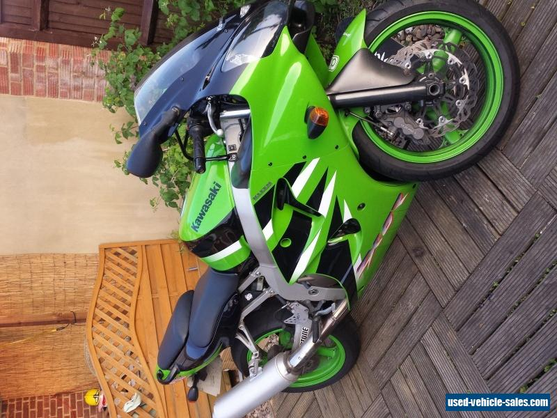 2001 Kawasaki Zx6r J2 For Sale In The United Kingdom
