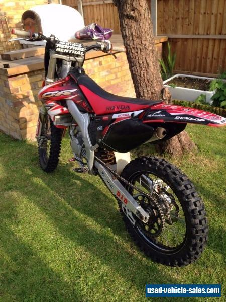 honda cr 125 2003 motocross bike for sale in the united kingdom. Black Bedroom Furniture Sets. Home Design Ideas