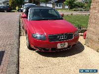 2004 AUDI A4 RED CONVERTABLE-  2.4l - PRICED TO SELL for Sale