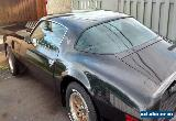 Pontiac: Trans Am Turbo for Sale